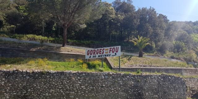 GORGES DE LA FOU